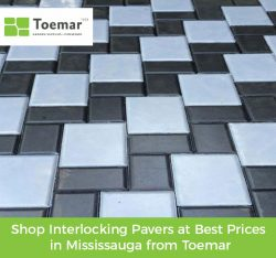 Shop Interlocking Pavers at Best Prices in Mississauga from Toemar