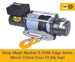 Shop Mean Mother 9,500lb Edge Series Winch Online from Fit My 4wd