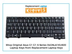 Shop Original Asus G1 G1-S Series 04GNLA1KUS00 Laptop Keys from Replacement Laptop Keys