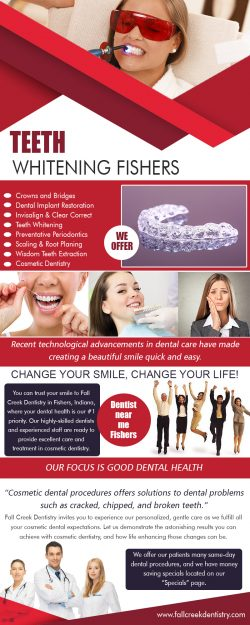 Teeth Whitening Fishers   3175968000   fallcreekdentistry.com