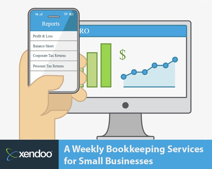Xendoo – A Weekly Bookkeeping Services for Small Businesses