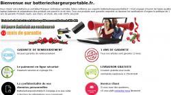 Batterie pc portable/Chargeur ordinateur portable