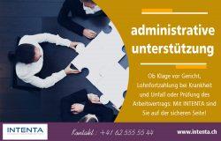 administrative unterstützung | Call us 625555544 | intenta.ch