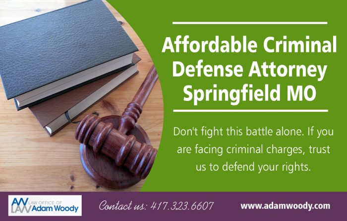 Affordable Criminal Defense Attorney Springfield MO