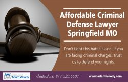 Affordable Criminal Defense Lawyer Springfield MO