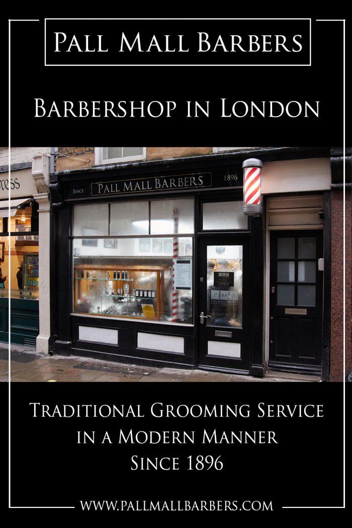 Barbershop in London | Call – 020 73878887 | www.pallmallbarbers.com