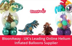 BloonAway – UK's Leading Online Helium Inflated Balloons Supplier