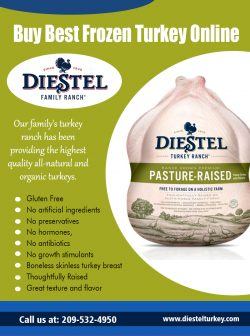 Buy Best Frozen Turkey Online | 2095324950 | diestelturkey.com