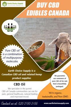 Buy CBD Edibles Canada   Call – 416-922-7238   earthchoicesupply.com