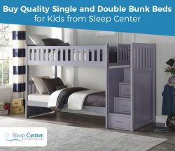 Buy Quality Single and Double Bunk Beds for Kids from Sleep Center