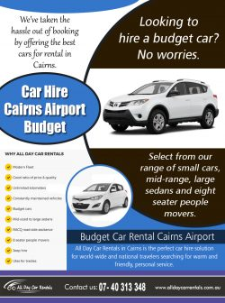 Car Hire Cairns Airport Budget