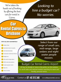 Car Rental Cairns to Brisbane