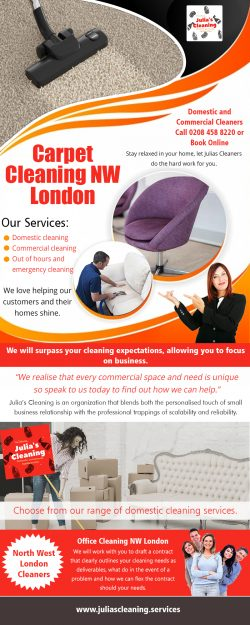 Carpet Cleaning in NW London
