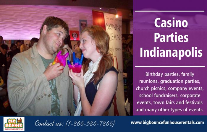 Casino Parties Indianapolis | Call – 1-866-586-7866 | bigbouncefunhouserentals.com