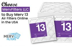 Choose MervFilters LLC to Buy Merv 13 Air Filters Online in the USA
