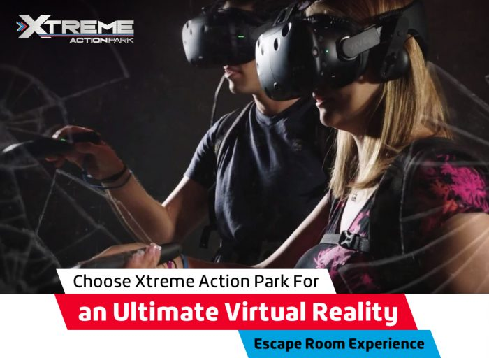 Choose Xtreme Action Park for an Ultimate Virtual Reality Escape Room Experience