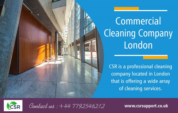 Commercial Cleaning Company london