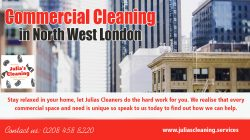 Commercial cleaning in north west london