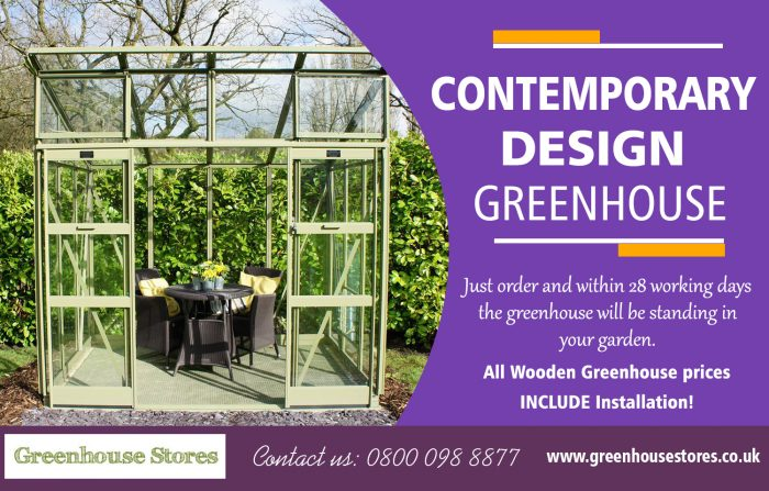 Contemporary Design Greenhouse