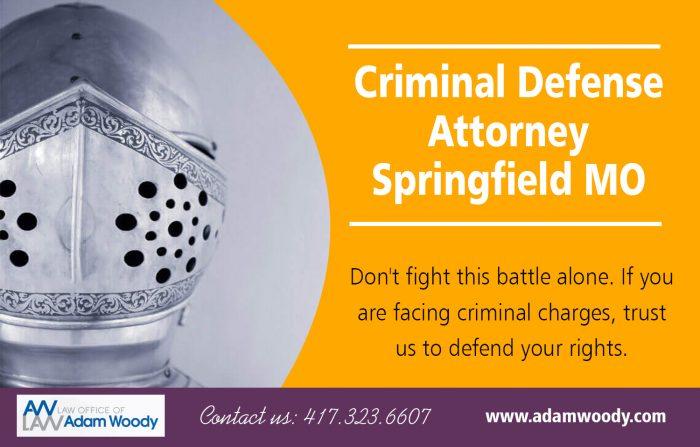 Criminal Defense Attorney Springfield MO