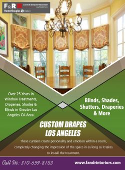 Custom Drapes Los Angeles