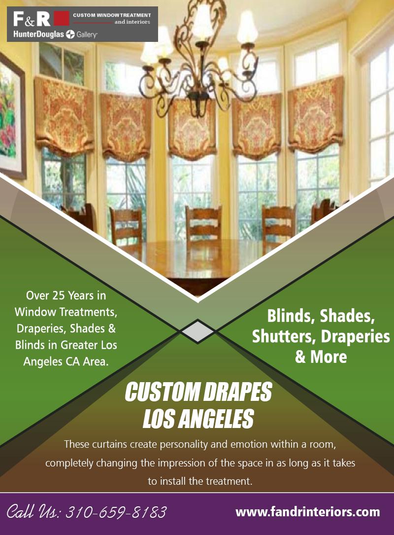 Custom Drapes Los Angeles