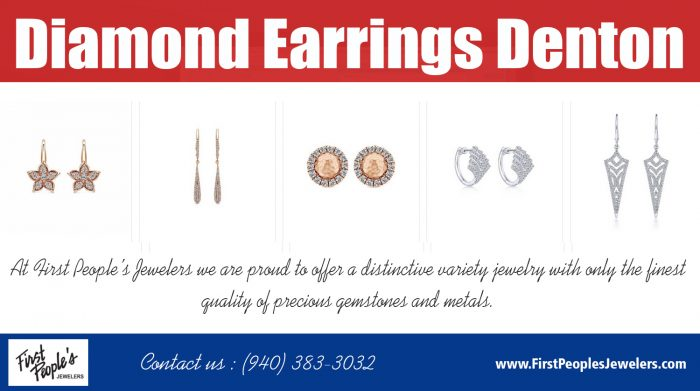 Diamond Earrings Denton