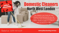 Domestic cleaners North West London
