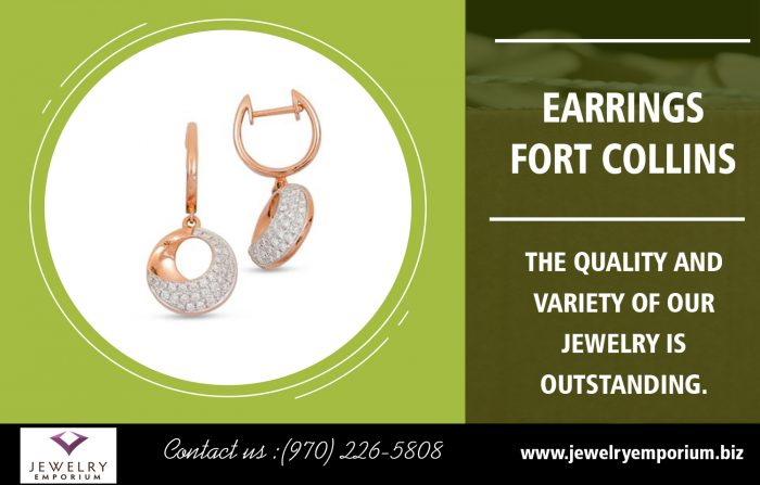 Earrings Fort Collins | 9702265808 | jewelryemporium.biz