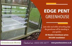 Edge Pent Greenhouse