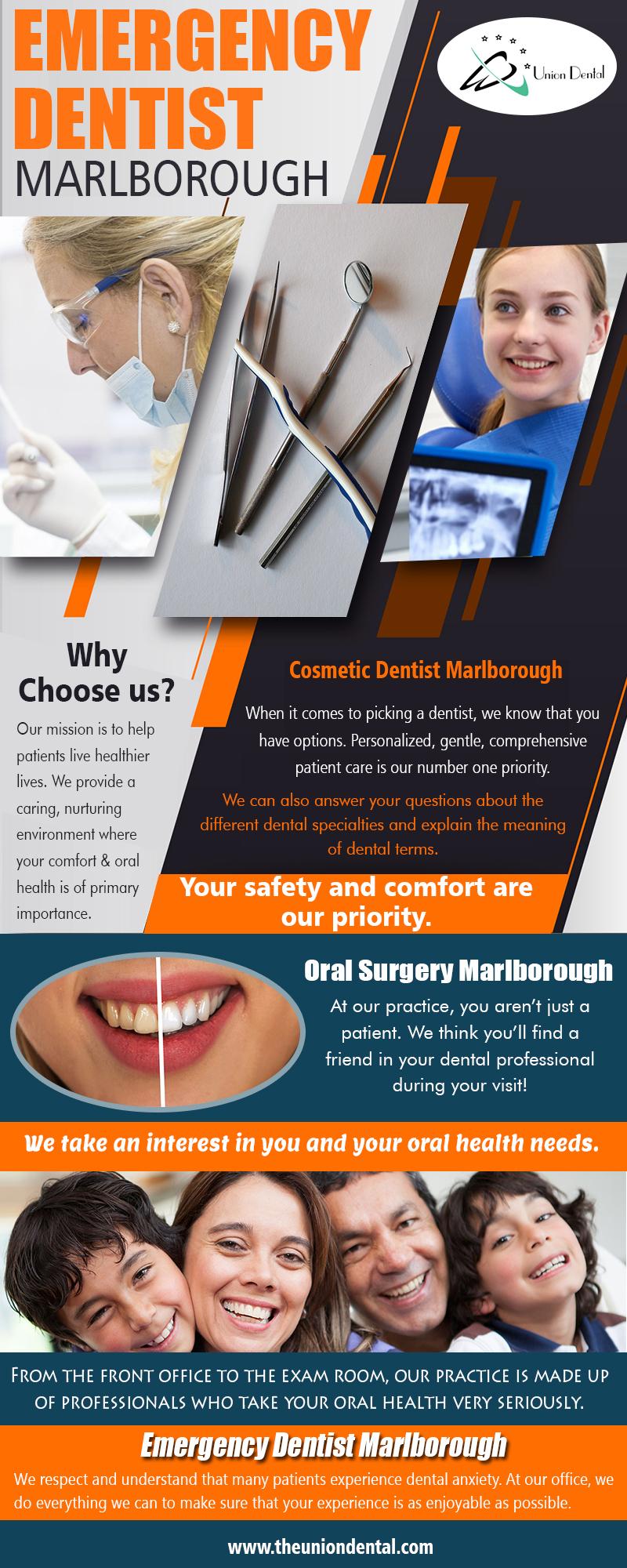 Emergency Dentist Marlborough