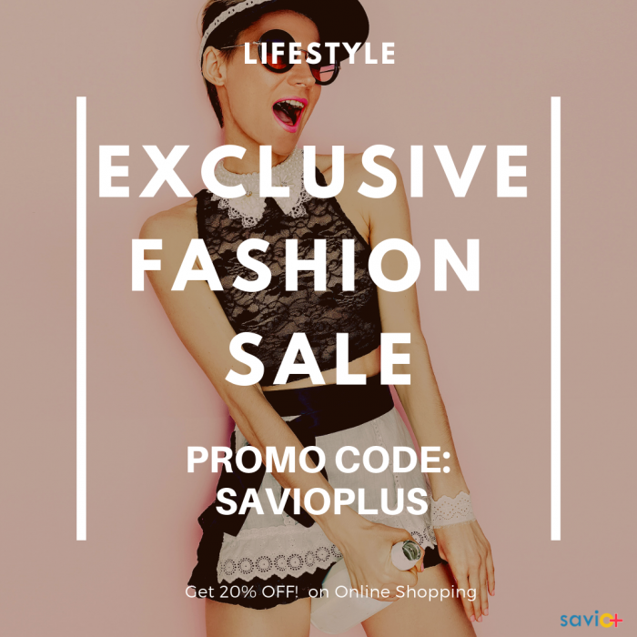 Lifestyle Exclusive Fashion Sale