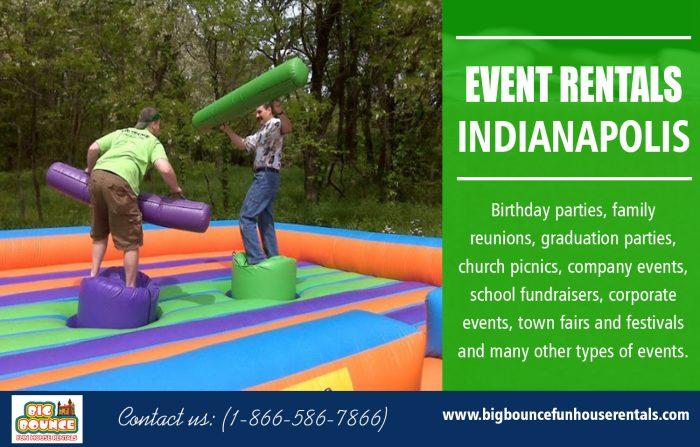 Event Rentals Indianapolis | Call – 1-866-586-7866 | bigbouncefunhouserentals.com