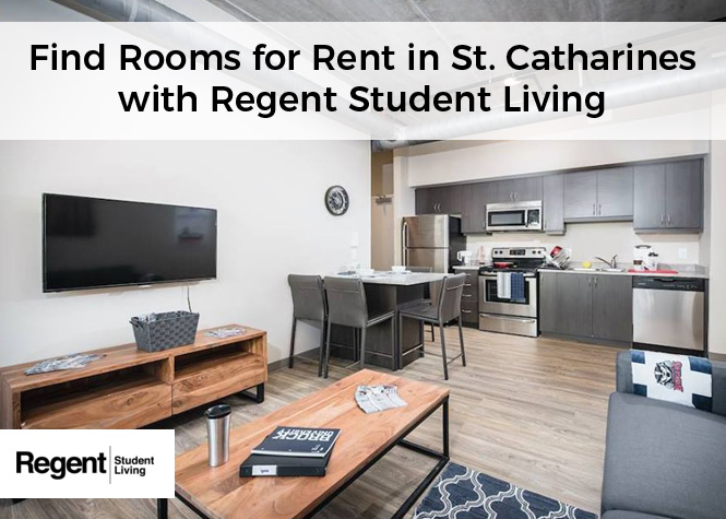 Find Rooms for Rent in St. Catharines with Regent Student Living
