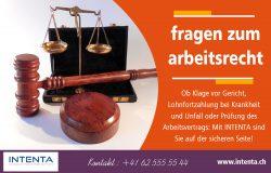 fragen zum arbeitsrecht | Call us 625555544 | intenta.ch