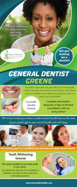 General dentist Greene