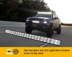 Get the Best 4×4 LED Light Bars Online from Fit My 4wd