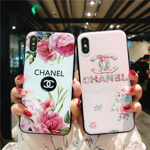 CHANEL IPHONEXR/XS/XS MAXケース 花柄 シャネル風 http://cocomote.com/goods-brand-chanel-iphone-ca ...