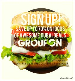 Groupon Sign Up Offer UAE