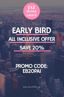 Jaz Hotel Early Bird All Inclusive Offer