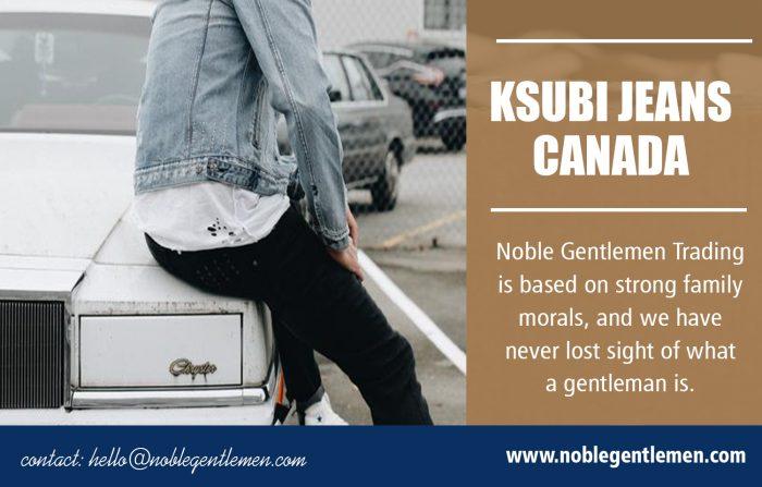 Ksubi Jeans Canada