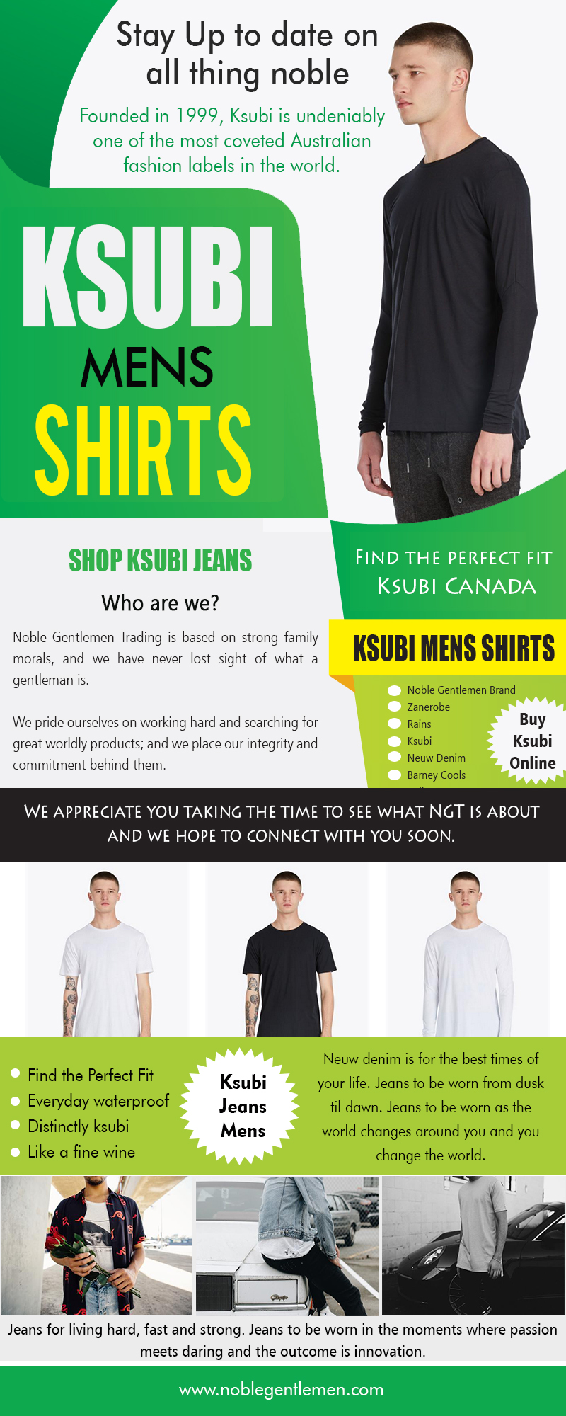 Ksubi Mens Shirts