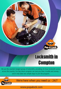 Locksmith in Compton | 4234996266 | popalock.com