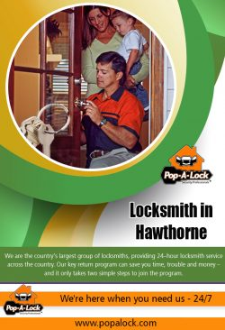 Locksmith in Hawthorne | 4234996266 | popalock.com