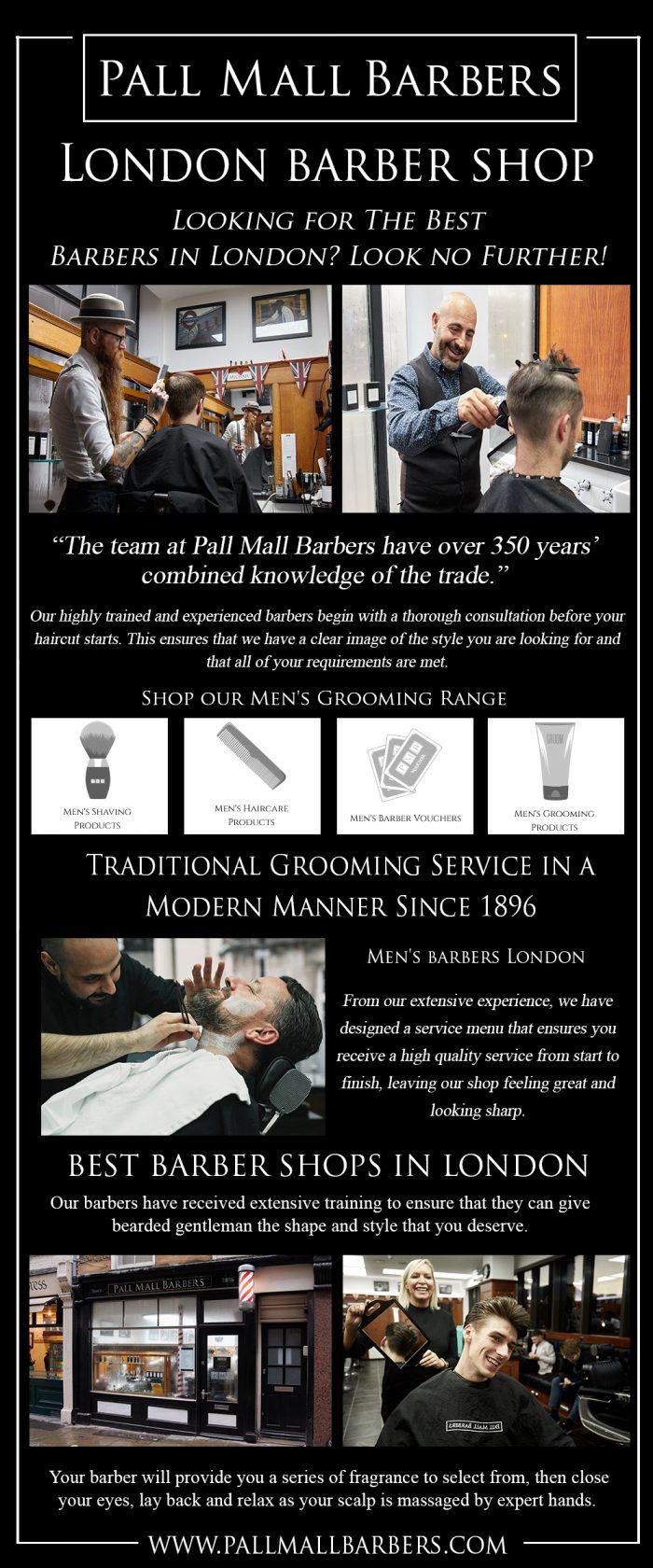 London Barber Shop | Call – 020 73878887 | www.pallmallbarbers.com