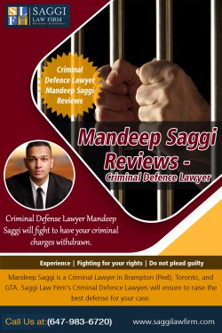 Mandeep Saggi Reviews – Criminal Defence Lawyer