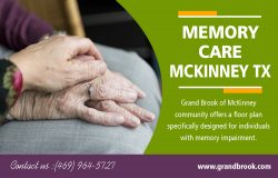 Memory Care in McKinney TX | 9725420606 | grandbrook.com