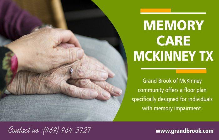 Memory Care in McKinney TX | 9725420606 | grandbrook.com
