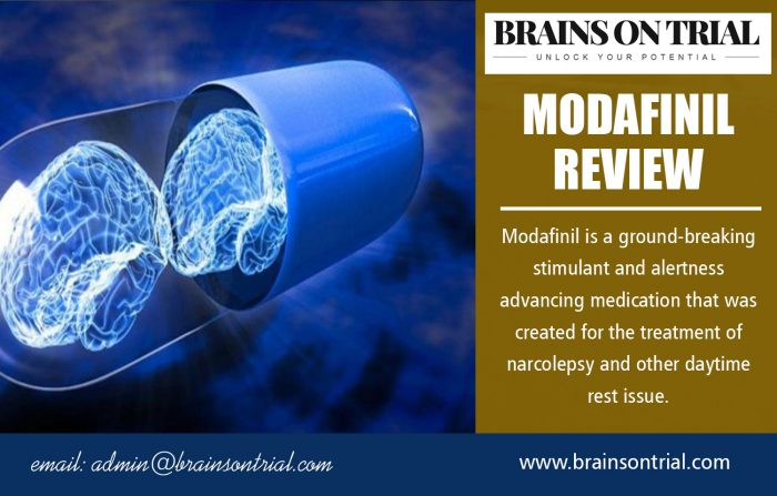 Modafinil Review