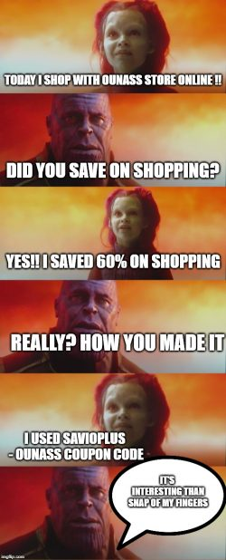 Avengers Savings With Ounass Coupon Code
